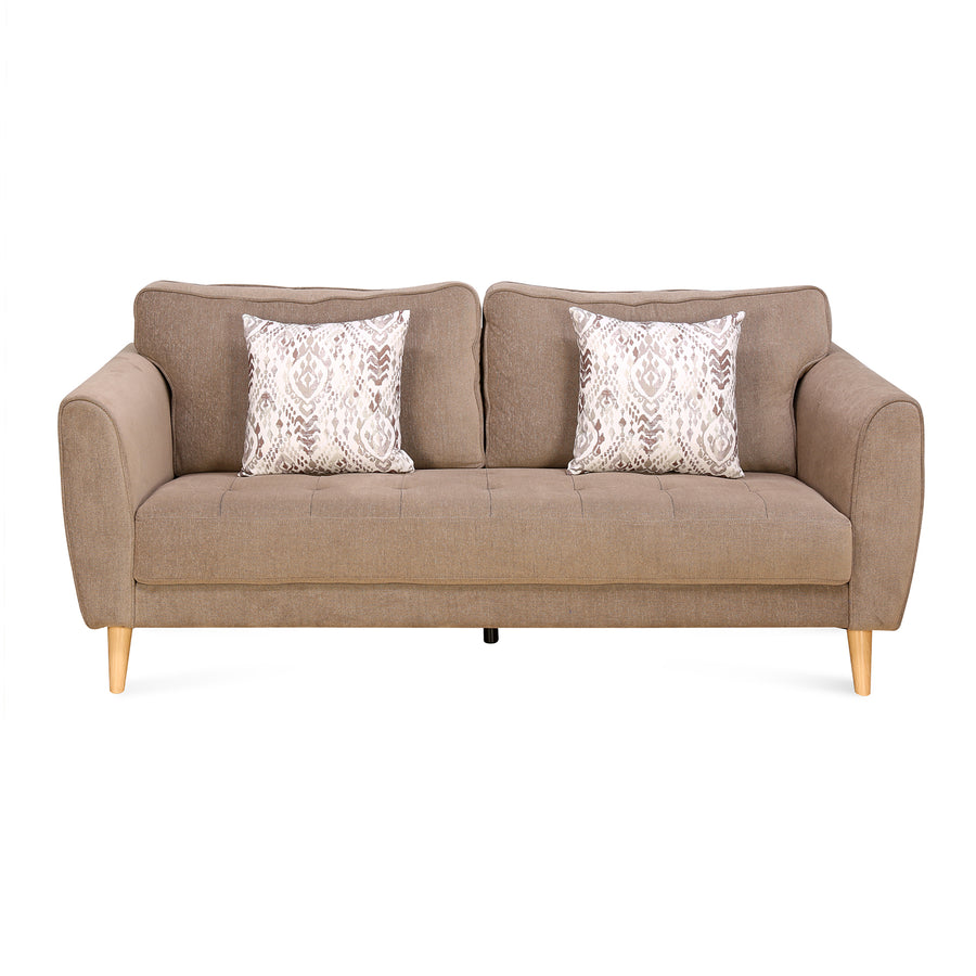 Livia 3 Seater Sofa (Brown)