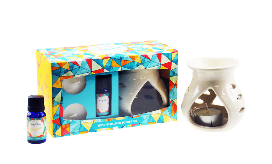Song of India Honeysuckle Little Pleasures Vaporiser Burner Set