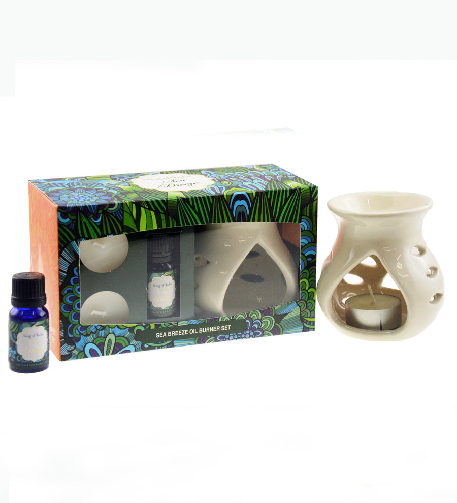 Song of India Sea Breeze Little Pleasures Vaporiser Burner Set