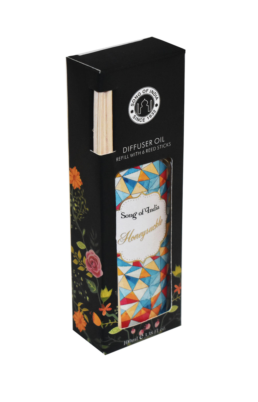Song of India 100 ml Honeysuckle Little Pleasures Diffuser Oil