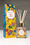 Song of India 100 ml Ivory Musk Reed Diffuser in Glass Jar with 6 Sticks for Home Fragrance