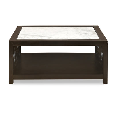 Lugo Marble Top Center Table (Walnut)