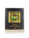 Song of India 4 g Honeysuckle Solid Perfume in Brass Cloisonn /Meenakari Jar for Body Fragrance