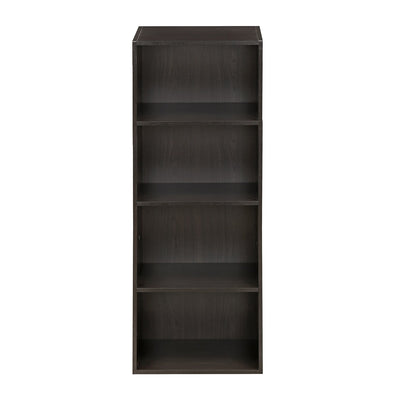 Lister 4 Shelf Cabinet (Brown)