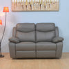 Mandy 2  Seater Manual Recliner  (Grey)
