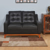 Marissa 2 Seater Sofa (Black)