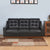 Marissa 3 Seater Sofa (Black)