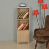 Merit 1 Door Medium Library Cabint (Walnut)