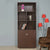 Merit 2 Door Library Cabinet (Brown)