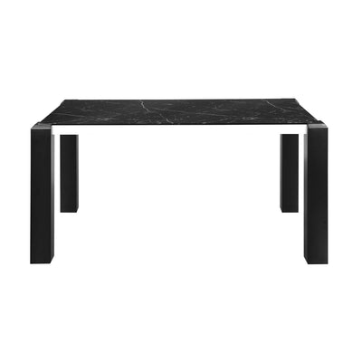 Mickle 6 Seater Dining Table (Black)