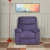 Midas 1 Seater Manual Recliner (Purple)