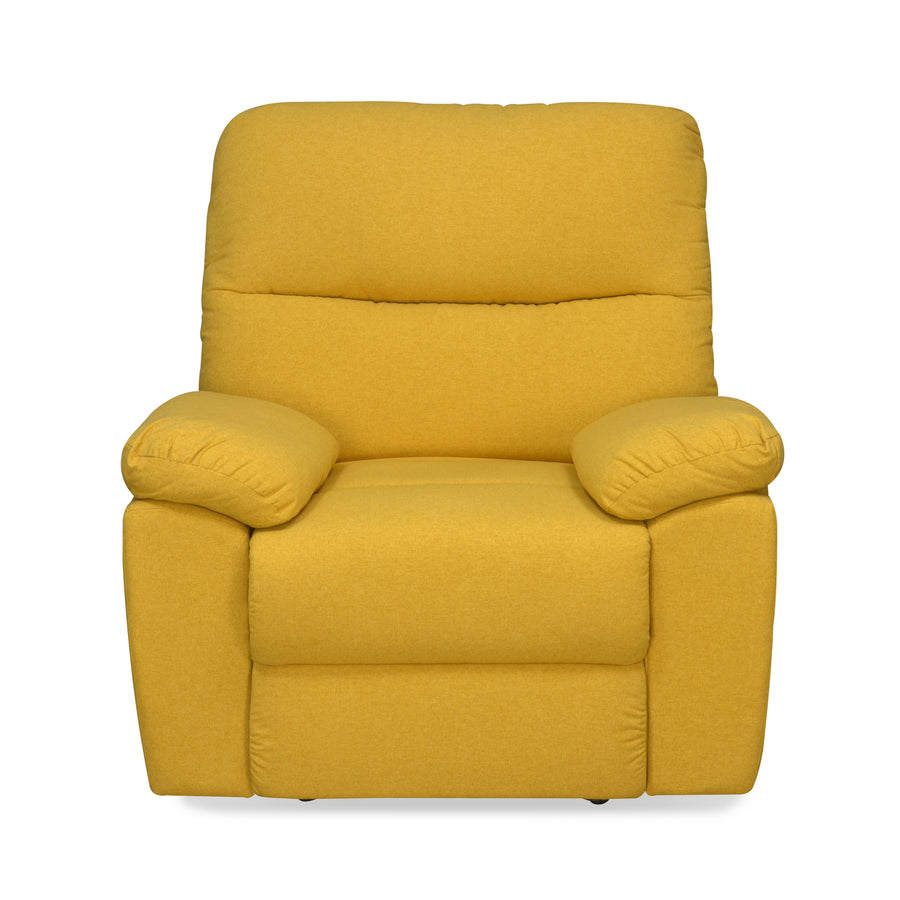 Midas 1 Seater Manual Recliner (Yellow)