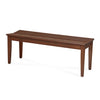 Montie 6 Seater Dining Bench (Walnut)