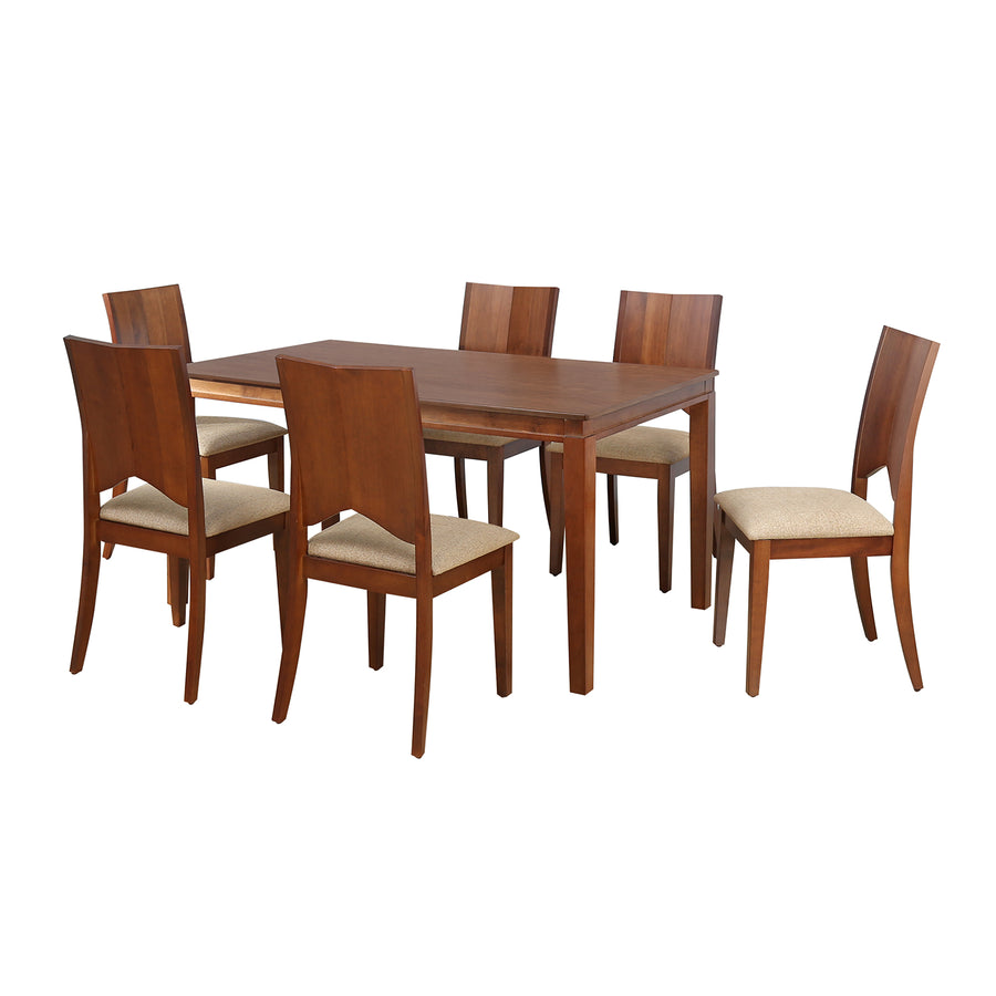 Montie 6 Seater Dining Kit (Walnut)