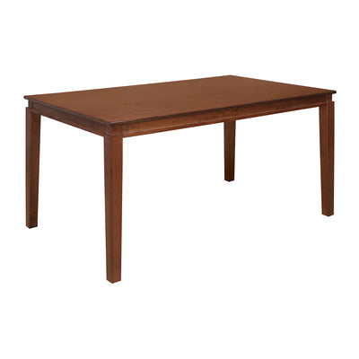 Montie 6 Seater Dining Table (Walnut)