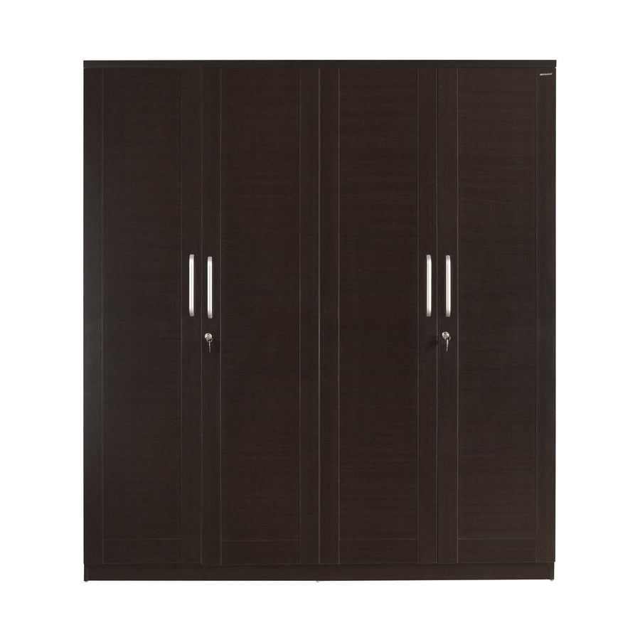 Morocco 4 Door Wardrobe Without Mirror (Wenge)