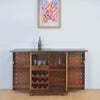 Naaz Bar Cabinet (Walnut)