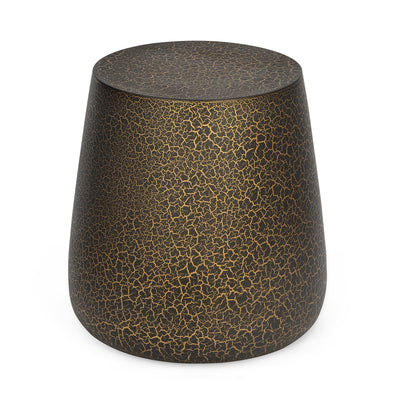 Newberry Side Table (Black & Gold)