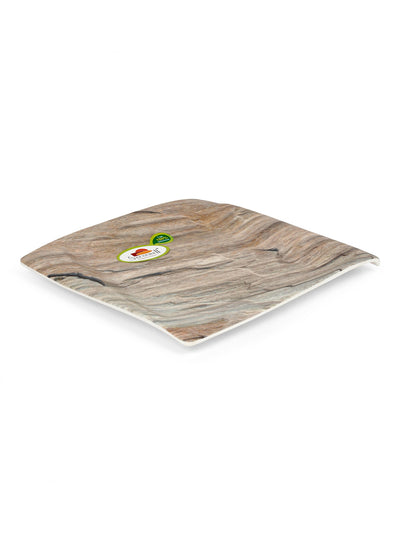 Tropical Ohio Melamine Small Plate (Brown)