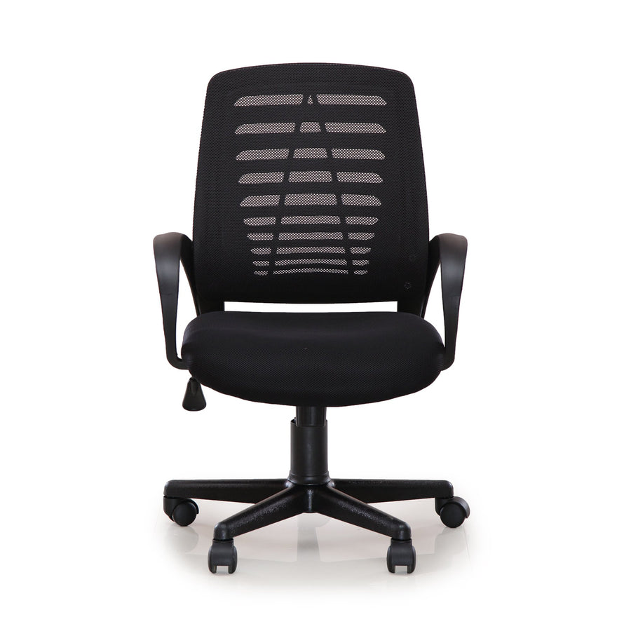 Elantra Medium Back Office Chair (Black)