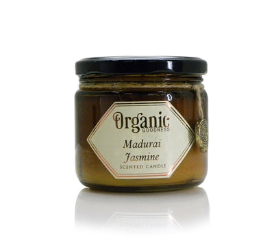 Song of India 200 g Madurai Jasmine/Mogra Organic Soy Candle