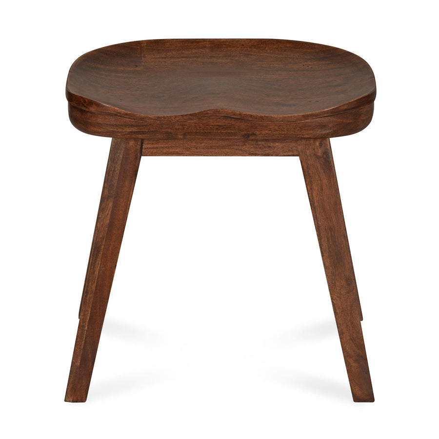Oribi Solid Wood Stool (Walnut)