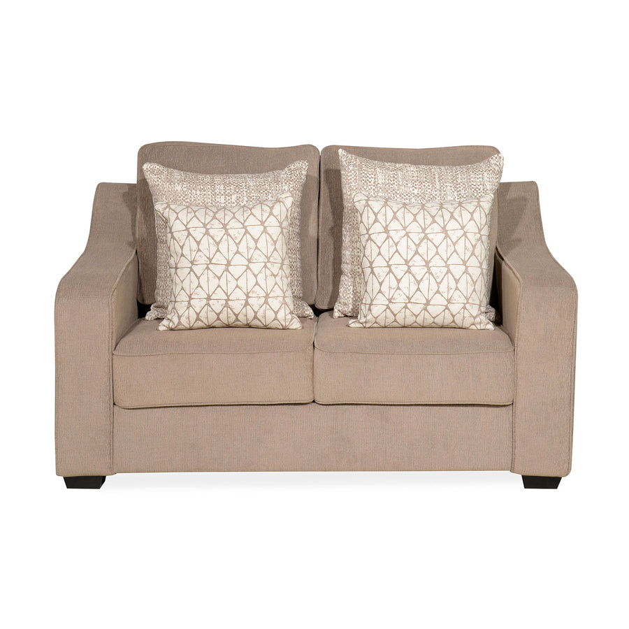 Oswald 2 Seater Sofa (Brown)