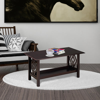Patty Center Table (Dark Cappuccino)