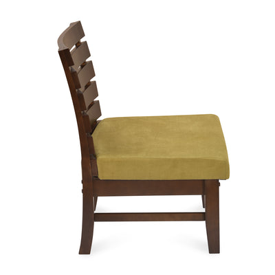 Perfecto Occassional Chair (Cappuccino With Olive)
