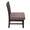 Perfecto Occassional Chair (Wenge With Brown)