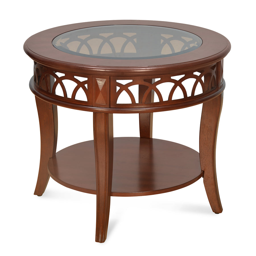 Pisces Side Table (Brown)