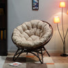Plush Occassional Chair (Brown)