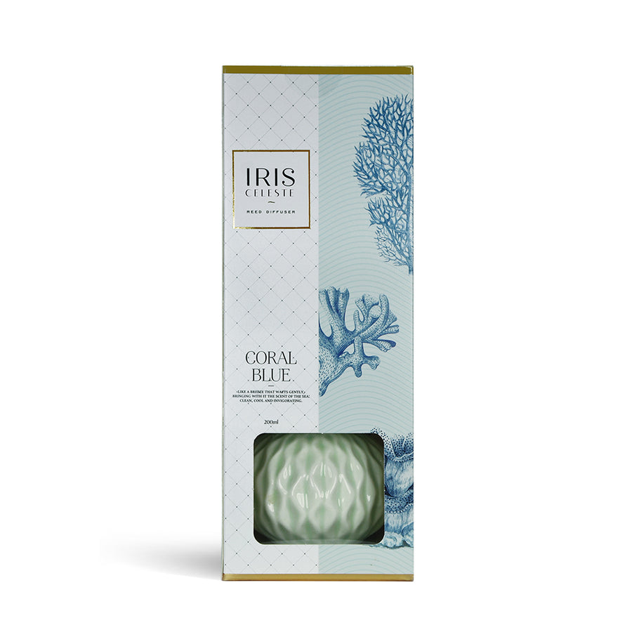 Iris Ceramic Reed Diffuser( White)