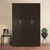 Reegan 3 Door Wardrobe without Mirror (Wenge)