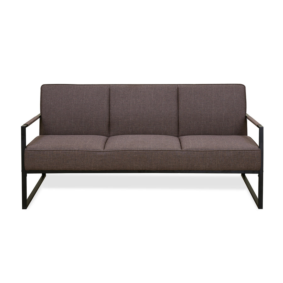 Remus 3 Seater Sofa (Dark Brown)