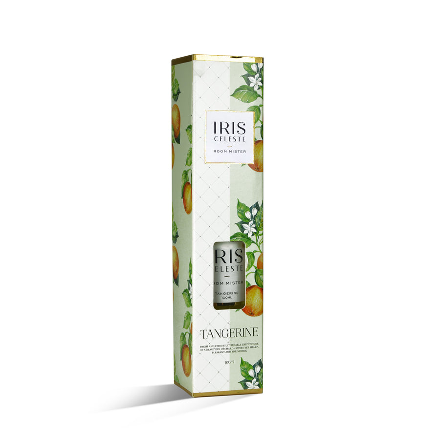 Iris Room Mister 100Ml Tangerine( Elegant Galss Bottle)