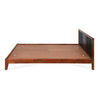 Roxwell King Bed (Brown)