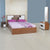 Rubix Queen Bedroom Set (Brown)