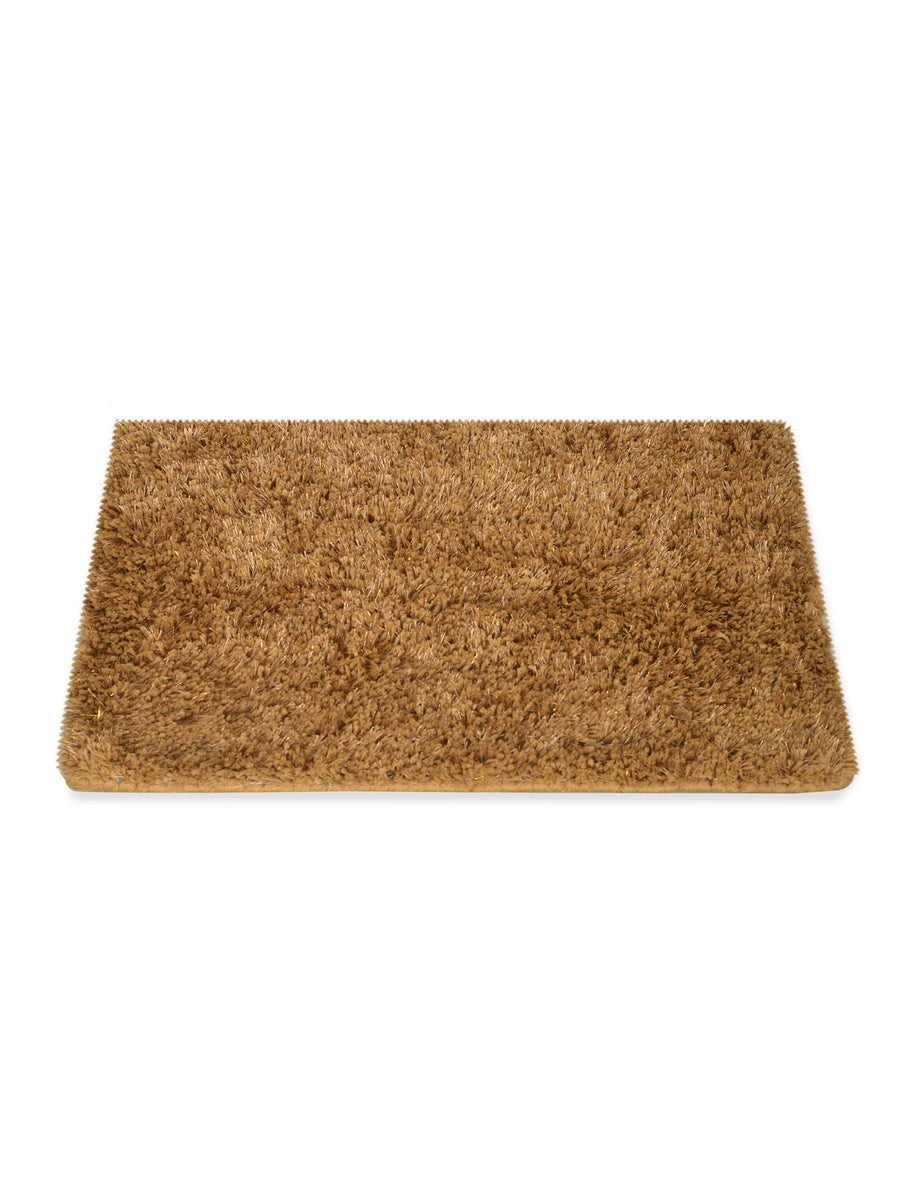 Lurex Shaggy Rugs (Gold)