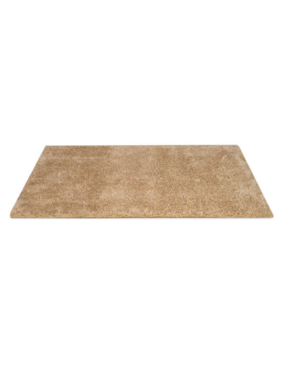 Lurex Shaggy Rug (Brown)