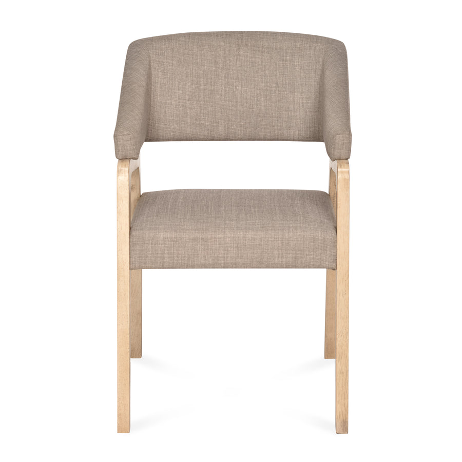 Sampson Arm Chair (Light Grey)