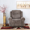 Sandra 1 Seater Manual Recliner (Grey)
