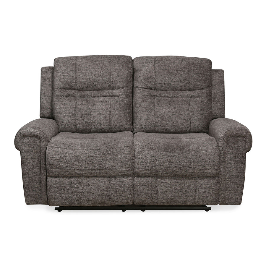 Sandra 2 Seater Manual Recliner (Grey)