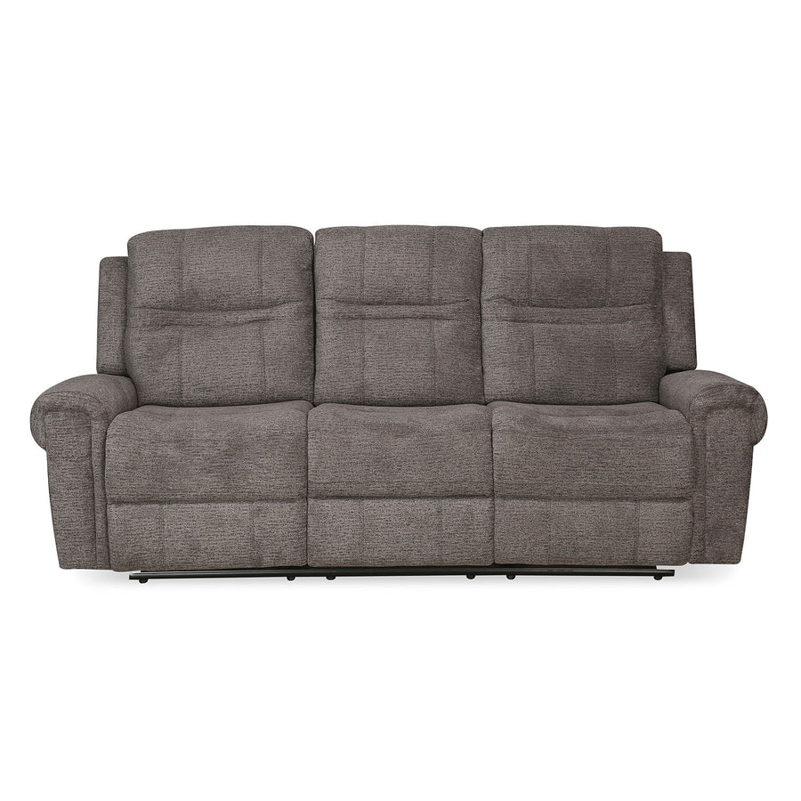 Sandra 3 Seater Manual Recliner (Grey)