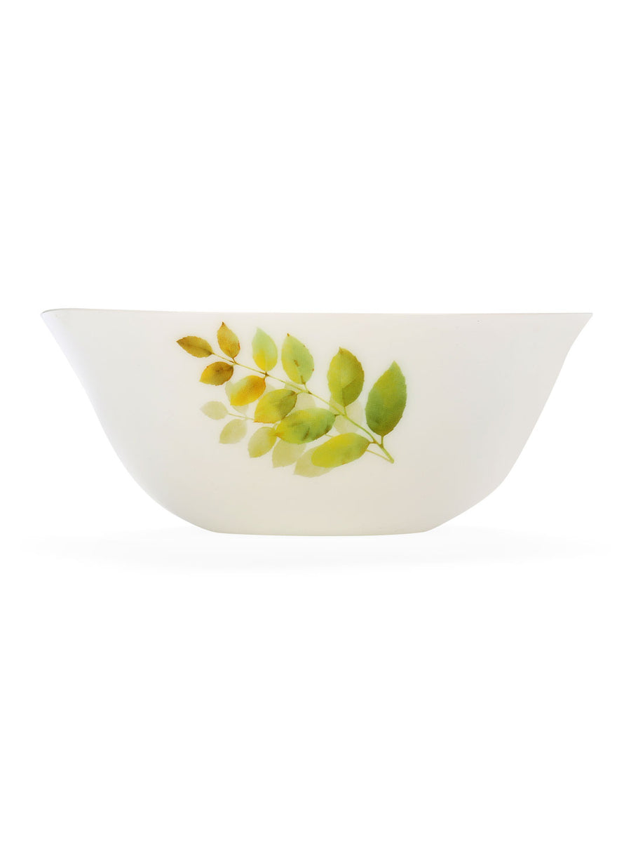 Serving Bowl Ivory Autumn Shadow (Multicolor)