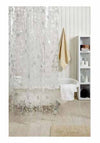 Obsessions Shower Curtains Shower Curtain Eva 3D Globe Clear