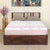 "Skipper 75"" x 60"" Queen Bed with Hydraulic Storage (Walnut)"