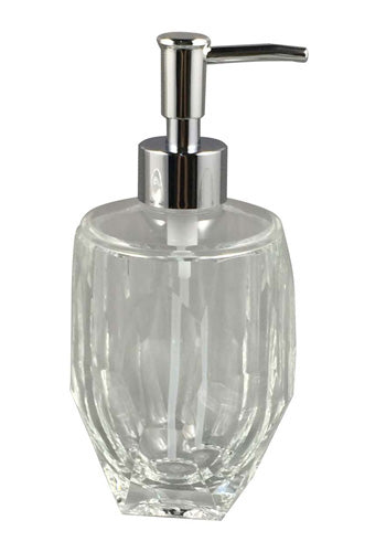 Obsessions Soap Dispenser Soap Dispencer Bath Acc Aqua Crystal 2439