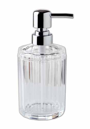 Obsessions Soap Dispenser Soap Dispencer Bath Acc Aqua Crystal 2625
