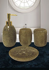 Obsessions Spaze 4Pcs Bathroom Set-Gold